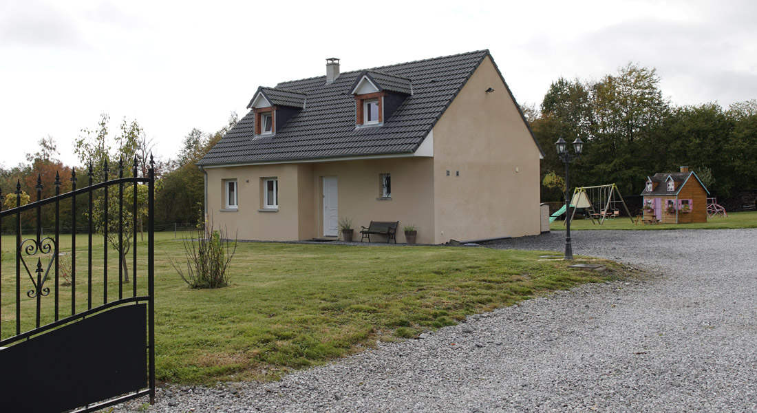 Pavillon à étage à Rocroi